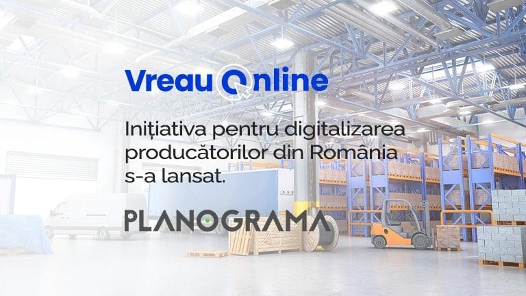 Program digitalizare producatori romani