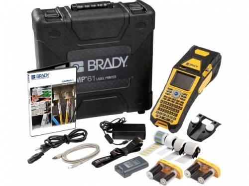 Aparat de etichetare Brady BMP61 Wi-Fi kit electricieni