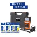 Aparat de etichetare Brother P-Touch PT-E550WSP, pachet special