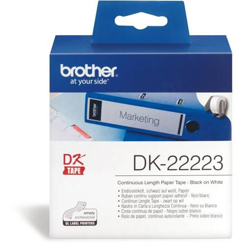 Banda continua hartie Brother DK22223 50mm 30.48m
