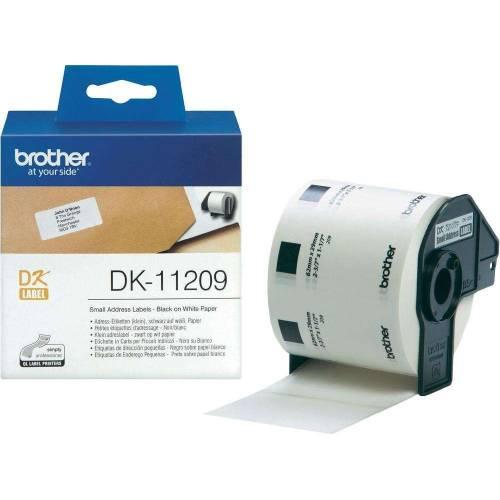 Banda de etichete Brother DK11209 62x29mm 800 et./rola