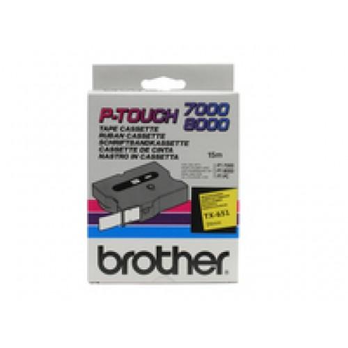 Banda continua laminata Brother TX651 24mm 15m