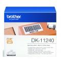 Banda de etichete Brother DK11240, 102x51mm, 600 et./rola