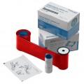 Ribon monocrom Datacard 532000-005, rosu