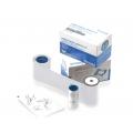 Ribon monocrom Datacard 532000-004, alb