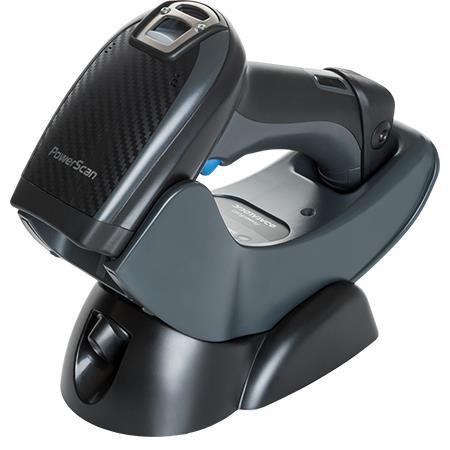 Cititor coduri de bare Datalogic PowerScan PM9500-RT 2D RF cradle negru