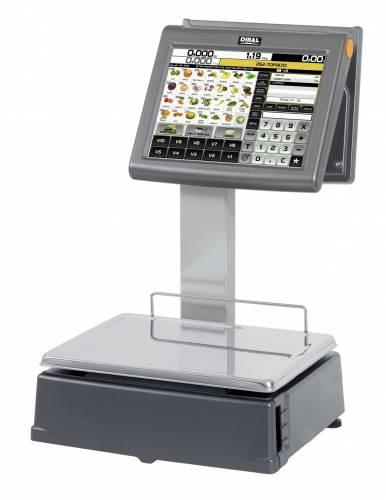 "Cantar Dibal D-955 6/15kg dublu corp display client 7"""