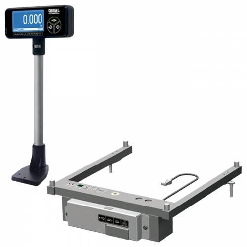 Cantar Dibal KS-400 S 15/30 kg incorporabil doua display-uri doua cabluri