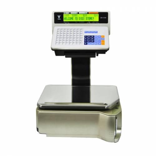 Cantar Digi SM-5100EV cu eticheta 6/15kg suport afisaj display 2 linii