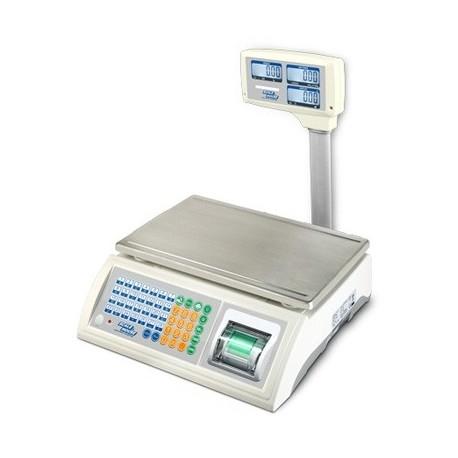 Cantar numarator Dini Argeo ASGPP 15/30 kg imprimanta