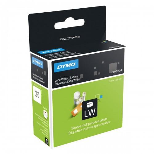 Etichete Dymo LabelWriter DY929120 25x25mm hartie alba repozitionabile