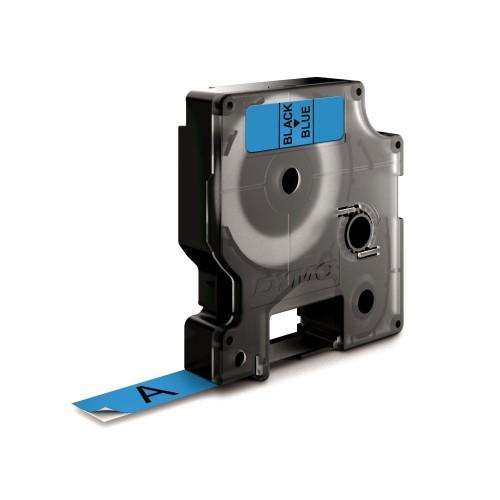 Banda laminata Dymo D1 DY40916 9mm Negru/Albastru