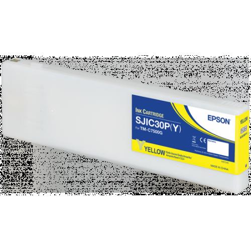 Cartus cerneala Epson ColorWorks C7500G galben