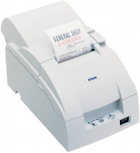 Imprimanta matriciala Epson TM-U220A USB cutter alba