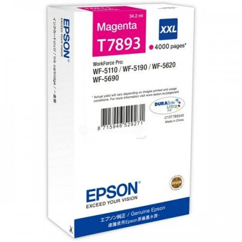 Cartus cerneala Epson T7893 XXL magenta