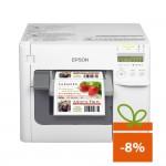 Imprimanta de etichete color Epson ColorWorks TM-C3500