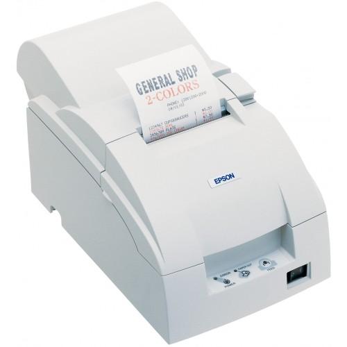 imprimanta matriciala epson tm-u220a serial cutter alba