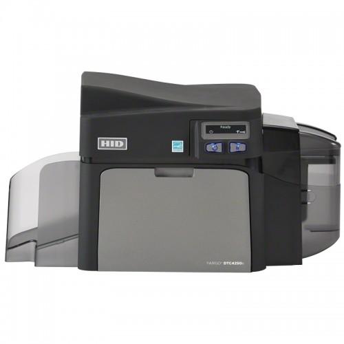 Imprimanta de carduri HID Fargo DTC4250e single side Ethernet LCD