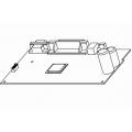 Placa de baza pentru imprimante Godex G500/G530