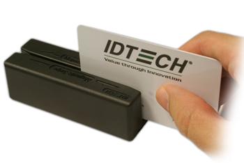 Cititor de carduri magnetice IDTECH MiniMagII DUO USB/KB