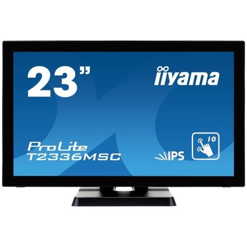 "Monitor touchscreen iiyama ProLite T2336MSC 23"" blue light reducer negru"