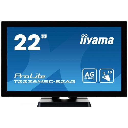 "Monitor touchscreen iiyama ProLite T2236MSC-B2AG 21.5"" PCAP negru"