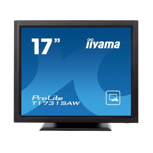 "Monitor touchscreen iiyama ProLite T1731SAW 17"" SAW negru"