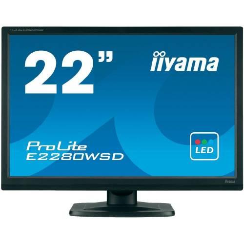 """Monitor iiyama ProLite E2280WSD 22"""" negru"""