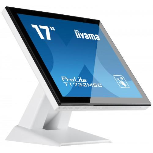"Monitor touchscreen iiyama ProLite T1732MSC 17"" PCAP alb"