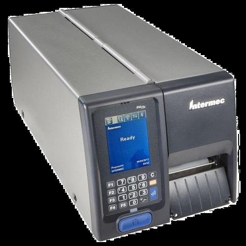 Imprimanta de etichete Intermec PM43C TT Ethernet Rewinder Peeler