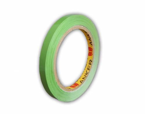 Banda adeziva pentru inchis pungi 9mm verde