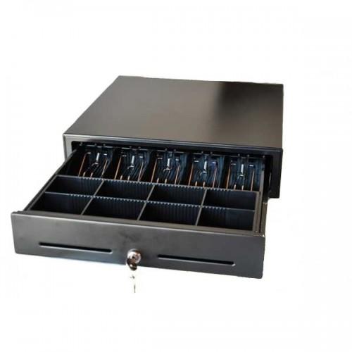 Sertar de bani metalic CD410BK negru