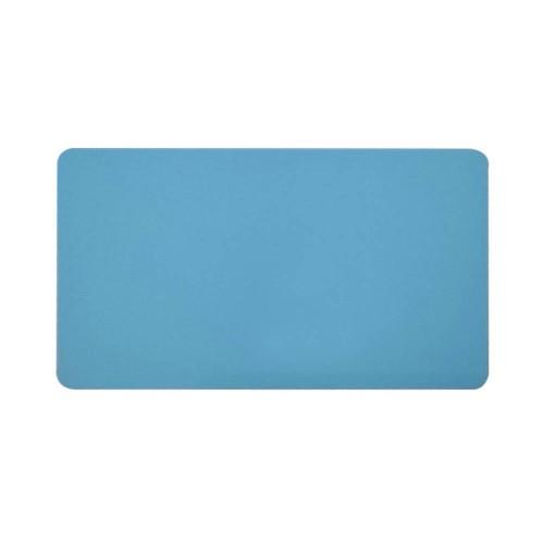 Card PVC CR80 bleu