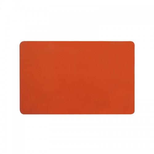 Card PVC CR80 portocaliu