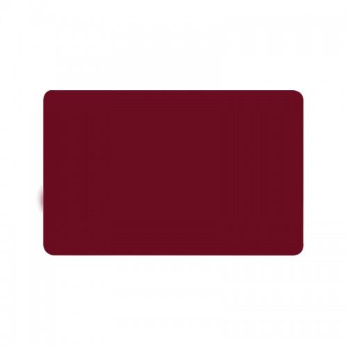 Card PVC CR80 rosu