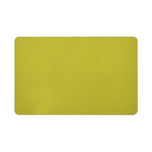 Card PVC CR80 galben