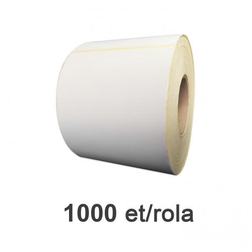 Role de etichete semilucioase 90x145mm 1000 et./rola
