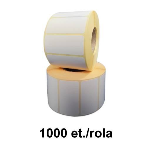 Role de etichete termice 55x25mm pentru Datecs LP-50 1000 et./rola