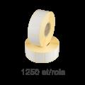 Role de etichete semilucioase 40x30mm