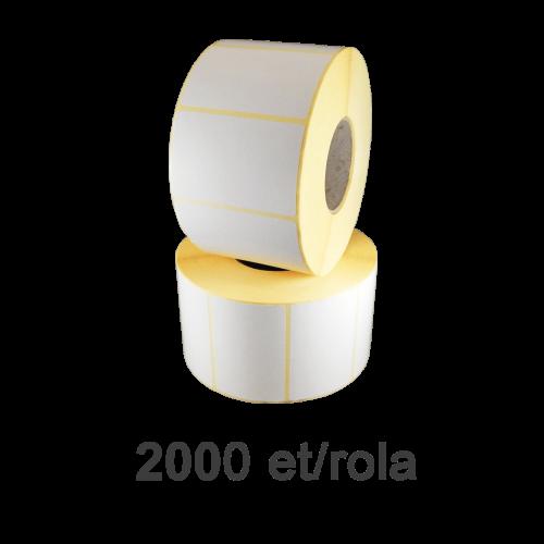Role de etichete termice 40x24mm 2000 et./rola