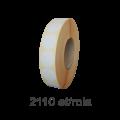 Role de etichete semilucioase rotunde 17mm, 2110 et./rola