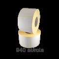 Role de etichete semilucioase 70x40mm, 940 et./rola