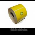 Role de etichete termice galbene 50x40mm, 940 et./rola