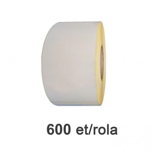 Role de etichete semilucioase 70x213mm 600 et./rola