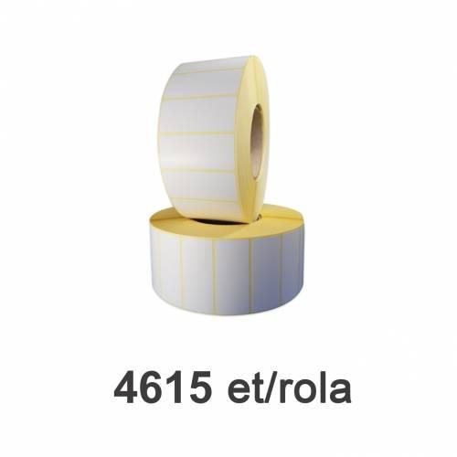Role de etichete semilucioase 70x30mm 4615 et./rola