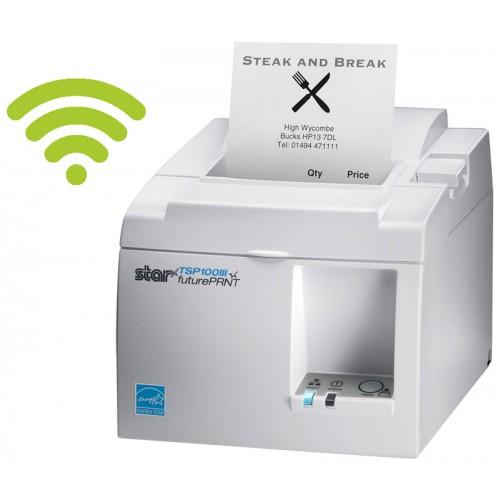 Imprimanta termica STAR TSP143IIIW Wi-Fi alba