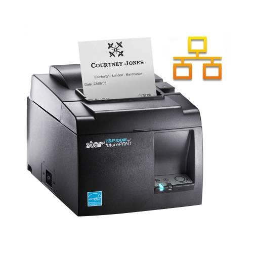 Imprimanta termica STAR TSP143IIIL LAN neagra