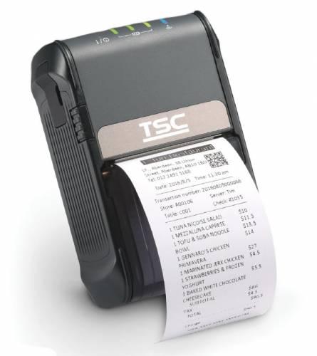 Imprimanta mobila de etichete TSC Alpha-2R 203DPI Bluetooth USB neagra