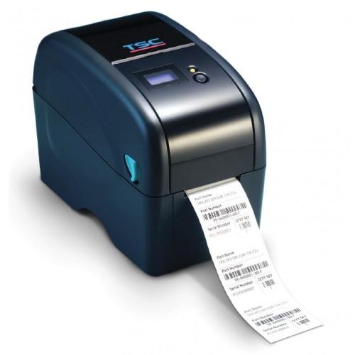 Imprimanta de etichete TSC TTP-323 300DPI Ethernet LCD albastra