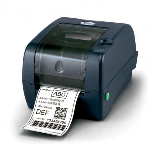 Imprimanta de etichete TSC TTP-345 300DPI Ethernet albastra